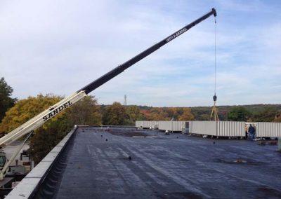 Sandel Cranes HVAC Rigging
