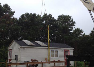 Sandel Cranes Modular Homes