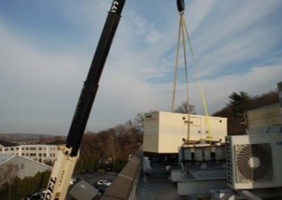 Sandel Cranes Generator Transport and Storage